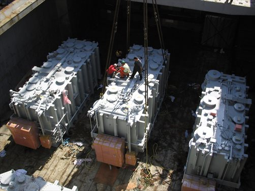 Heavy Power Transformers